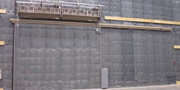 Acoustical (Sound Control) Doors & Fire Rated Doors Hangar Doors bottom rolling top-guided hangar ...