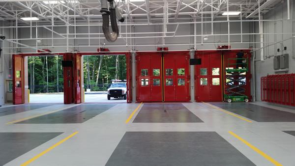 Four Fold Doors For Railcar Entrances