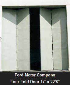 Ford Motor Company four fold door