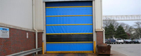 Rollup Fabric Doors