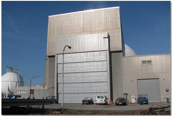 dock doors, vertical lift doors, sound retardant, high speed